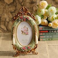 Vintage Europe Photo Frame Rose Resin Photo Frame  Picture Frames Table