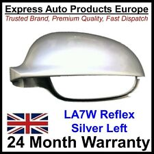 LEFT Wing Mirror Cover Housing Casing VW Golf Mk5 Reflex Silver LA7W