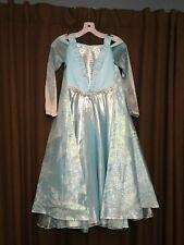 Disney Limited Edition Frozen Frozen Elsa Costume LiteUp Dress & Cape Sz 8 NWT
