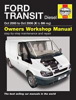 Reparaturhandbuch/ -anleitung Ford Transit Diesel 00, 01, 02, 03, 04, 05 & 2006