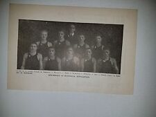 University of Minnesota Golden Gophers 1919-20 Basketball Team Picture