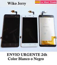 "Pantalla Completa ""Wiko Jerry"" Dual Negra Blanca (LCD + Tactil) Cristal Display"