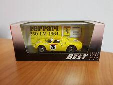Best Model 9010 Ferrari 250 LM Le Mans 65 1:43 NEU und OVP