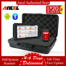 Car OBDII Diagnostic Tool Bluetooth OBD2 Automotive Scanner Tablet Full Systems