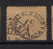 CHILE 1894 POSTAGE DUE OFFICIAL MULTA 4 cts USED