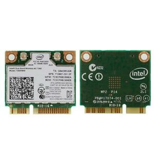 Dual Band Wireless-AC 7260HMW Mini PCI-E BT4.0 Card  Intel For HP SPS 710661-001