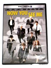 Now You See Me DVD 2013 Includes Digital Copy UltraViolet