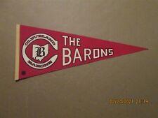 Nhl The Cleveland Barons Vintage Defunct Circa 1976-77 Team Logo Hockey Pennant