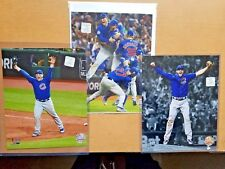2016 World Series CHICAGO CUBS 8x10 PHOTO LOT of (3):  Bryant, Anthony Rizzo, +