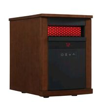Duraflame Infrared Quartz Cabinet Electric Space Heater Thermostat Rose Cherry