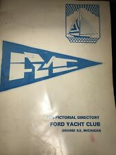Ford Yacht Club 1975  Photo Directory Grosse Ile Michigan