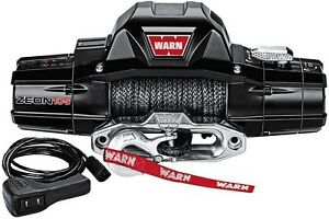Warn 10,000 lb Jeep Truck & SUV Premium Series ZEON 10-S Winch 12V Synthetic