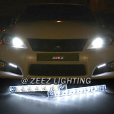 Euro 6 LED Daytime Running Light DRL Daylight Kit Fog Lamp Day Time Lights C94
