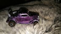 Hot Wheels Redline Classic '36 Ford Coupe. Rare Colour Purple. Boot opens.