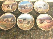 Danbury Mint 6 plate collection by Nancy Glazier Wild & Free