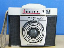 FOTOCAMERA CORINA 2 DRUOPTA VINTAGE CECOSLOVACCHIA 1960