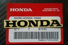 Honda Logo Decal Sticker Emblem Black 70 mm.