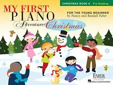 MY FIRST PIANO ADVENTURE FOR THE YOUNG BEGINNER-CHRISTMAS BOOK A MUSIC BOOK-NEW!