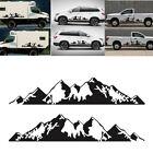 2pcs Mountain Range Vinyl Decal Sticker Fit for Car Truck Side Door Decoration photo