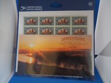 Lewis & Clark, Factory Sealed, 20 stamps and 20 Stamp Booklet