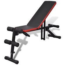 Panca Inclinata per allenamento fitness regolabile multiposizione addominali