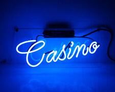 "New Casino Game Poker Neon Sign 14""x7"" Decor Artwork Light Lamp Display Poster"