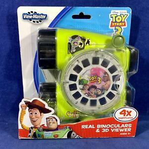 NEW Toy Story 3 VIEW-MASTER 3D Viewer REAL BINOCULARS & REEL Disney PIXAR