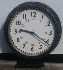 More details for british rail euston platform clock large 90cm diameter