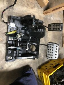 FORD FALCON BF XR6 XR8 FALCON FAIRMONT PEDAL BOX ASSEMBLY - METAL PLATES
