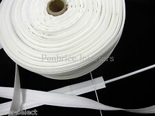 Roman blind tape 100m trade reel Sew on Loops & rod slot 2cm slotted fabric fold