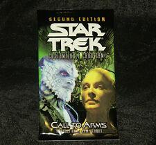 Star Trek ccg 2E seccond edition Call to Arms CTA complete set