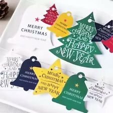 14pcs Christmas Gift Tags Christmas Trees Bells Stars TA023