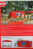 """Busch H0 1618 """"DLRG Tauchcontainer"""" mit Zubehör (Bausatz) 1:87/H0 NEU/OVP"""