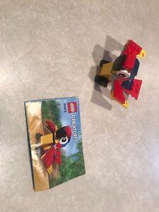 Vintage LEGO Creator Mini Build 30472 Parrot Polybag 43pcs
