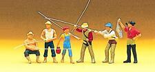 Preiser 10077 Angler und Sportfischer, H0 1:87