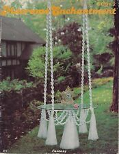 #SP2 Macrame Enchantment Book 2 Hanging Table, Fountain, Plant Hanger Patterns