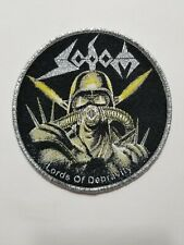SODOM LORDS OF DEPRAVITY WOVEN PATCH