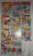 Lot of 11 Archie Laugh Digest Magazine Jughead, Betty & Veronica Comics Books