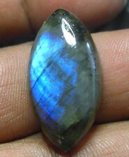 UNIQUE 27CT HUGE  MARQUISE SHAPE  NATURAL LABRADORITE  STONE FROM INDIA