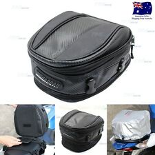 Motorcycle Touring Rear Pillion Seat Tail Bag Luggage - Expandable - Easy Carry