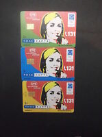 GRIEKENLAND LOT 3 DIFFERENT PHONECARDS WITH THEME: OTE 131 GREECE GRECIA GRECE