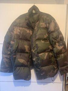 carhartt camo jacket XL