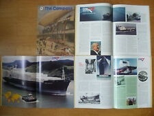 """MOBIL OIL~SOCONY~""""THE COMPASS""""-N°SPECIAL""""COMPAGNIE GENERALE MARITIME """"-1991 N°2-"""