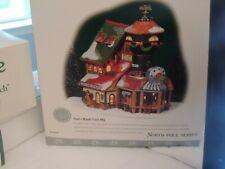 Department 56 North Pole Series Toot's Model Train In Original Box