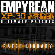 Roland XP-30 ULTIMATE Patches Synth Effects Keyboard Presets FREE FAST SHIPPING