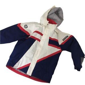 Descente Ski Jacket  Size 14 Junior Functional Sport system Heat Navi Unisex