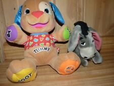 Fisher Price Laugh & Learn Puppy dog interactive electronic 2003 + Disney Eor