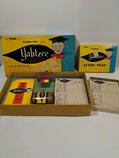 VINTAGE 1956 1967 YAHTZEE GAME WITH Box Of Scorecards Lowe Company Inc.