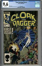 Cloak and Dagger #1 CGC 9.6 NM+ WHITE PAGES