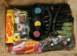 Liquorice Gift Box Personalised Sherbet Fountain Sweets Wands Wheels Allsorts